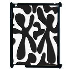 Black and white dance Apple iPad 2 Case (Black)