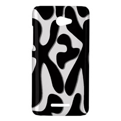 Black and white dance HTC Butterfly X920E Hardshell Case