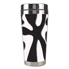 Black and white dance Stainless Steel Travel Tumblers