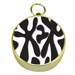 Black and white dance Gold Compasses