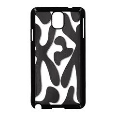 Black and white dance Samsung Galaxy Note 3 Neo Hardshell Case (Black)