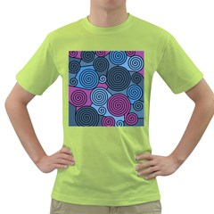 Blue hypnoses Green T-Shirt