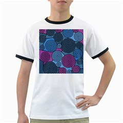 Blue hypnoses Ringer T-Shirts