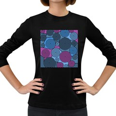 Blue hypnoses Women s Long Sleeve Dark T-Shirts