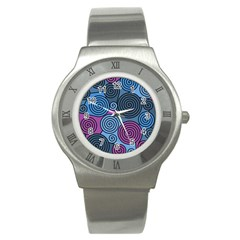 Blue hypnoses Stainless Steel Watch