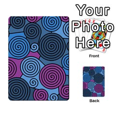 Blue hypnoses Multi-purpose Cards (Rectangle)