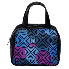 Blue hypnoses Classic Handbags (One Side)