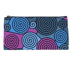 Blue hypnoses Pencil Cases