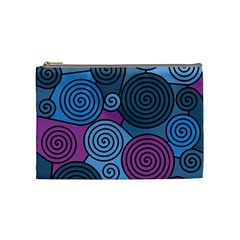 Blue hypnoses Cosmetic Bag (Medium)