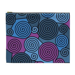 Blue hypnoses Cosmetic Bag (XL)