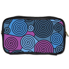 Blue hypnoses Toiletries Bags 2-Side