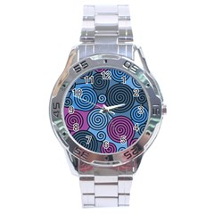 Blue hypnoses Stainless Steel Analogue Watch