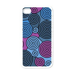 Blue hypnoses Apple iPhone 4 Case (White)