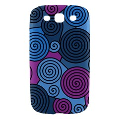 Blue hypnoses Samsung Galaxy S III Hardshell Case