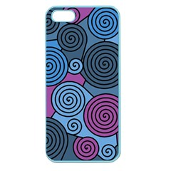 Blue hypnoses Apple Seamless iPhone 5 Case (Color)