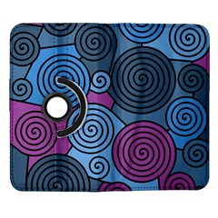 Blue hypnoses Samsung Galaxy Note II Flip 360 Case