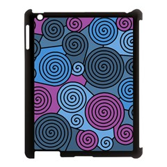 Blue hypnoses Apple iPad 3/4 Case (Black)