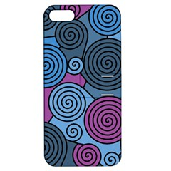 Blue hypnoses Apple iPhone 5 Hardshell Case with Stand