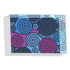Blue hypnoses 4 x 6  Acrylic Photo Blocks