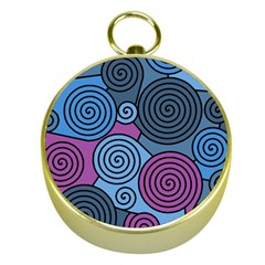 Blue hypnoses Gold Compasses