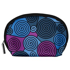 Blue hypnoses Accessory Pouches (Large)
