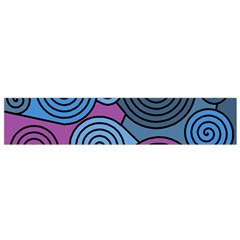 Blue hypnoses Flano Scarf (Small)