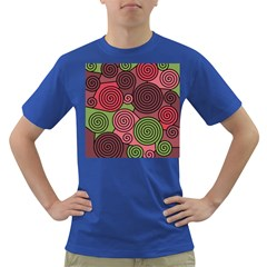 Red and green hypnoses Dark T-Shirt