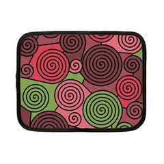 Red and green hypnoses Netbook Case (Small)