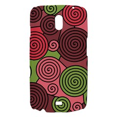 Red and green hypnoses Samsung Galaxy Nexus i9250 Hardshell Case
