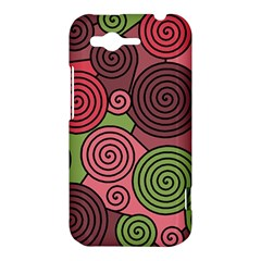 Red and green hypnoses HTC Rhyme