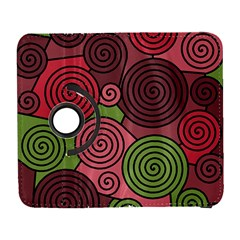 Red and green hypnoses Samsung Galaxy S  III Flip 360 Case