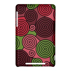 Red and green hypnoses Nexus 7 (2012)