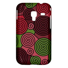 Red and green hypnoses Samsung Galaxy Ace Plus S7500 Hardshell Case