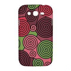 Red and green hypnoses Samsung Galaxy Grand DUOS I9082 Hardshell Case