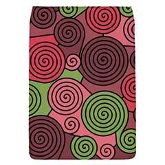 Red and green hypnoses Flap Covers (S)