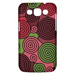 Red and green hypnoses Samsung Galaxy Win I8550 Hardshell Case