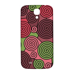 Red and green hypnoses Samsung Galaxy S4 I9500/I9505  Hardshell Back Case