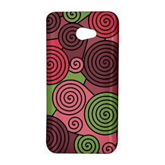 Red and green hypnoses HTC Butterfly S/HTC 9060 Hardshell Case