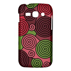 Red and green hypnoses Samsung Galaxy Ace 3 S7272 Hardshell Case