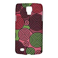Red and green hypnoses Galaxy S4 Active