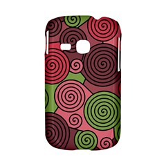 Red and green hypnoses Samsung Galaxy S6310 Hardshell Case