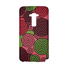 Red and green hypnoses LG G Flex