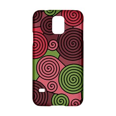 Red and green hypnoses Samsung Galaxy S5 Hardshell Case