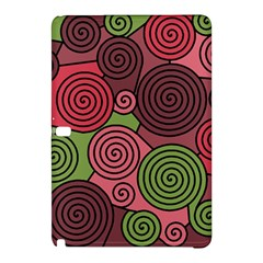 Red and green hypnoses Samsung Galaxy Tab Pro 12.2 Hardshell Case
