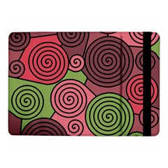 Red and green hypnoses Samsung Galaxy Tab Pro 10.1  Flip Case