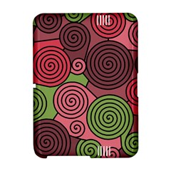 Red and green hypnoses Amazon Kindle Fire (2012) Hardshell Case