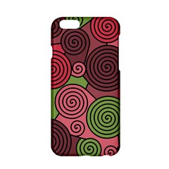 Red and green hypnoses Apple iPhone 6/6S Hardshell Case