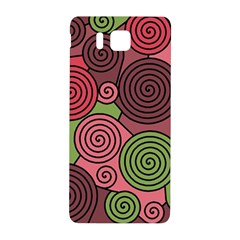 Red and green hypnoses Samsung Galaxy Alpha Hardshell Back Case