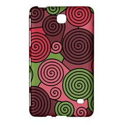 Red and green hypnoses Samsung Galaxy Tab 4 (8 ) Hardshell Case