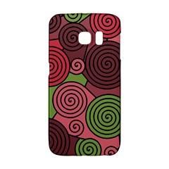 Red and green hypnoses Galaxy S6 Edge